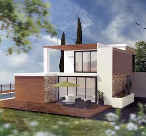 <span>Modélisation 3D maison particulier</span><i>→</i>