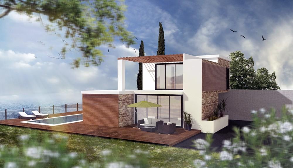 Mod lisation 3d maison particulier graphisme for Architecture interieur 3d