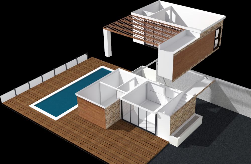mod lisation 3d maison particulier graphisme