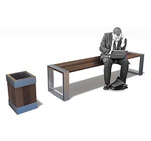 <span>3D mobilier urbain / bancs et poubelles</span><i>→</i>