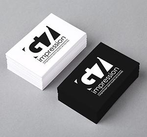 <span>Logo et carte de visite G7 Impression</span><i>→</i>