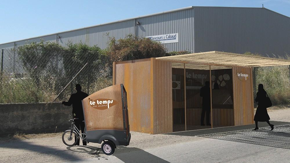 kiosque de restauration graphisme architecture d 39 int rieur. Black Bedroom Furniture Sets. Home Design Ideas