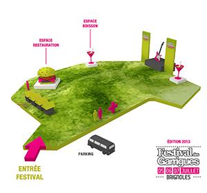 Previous<span>Plan 3D du site du Festival des Garrigues</span><i>→</i>