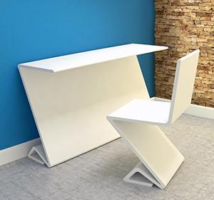 <span>Conception mobilier chaise et bureau</span><i>→</i>