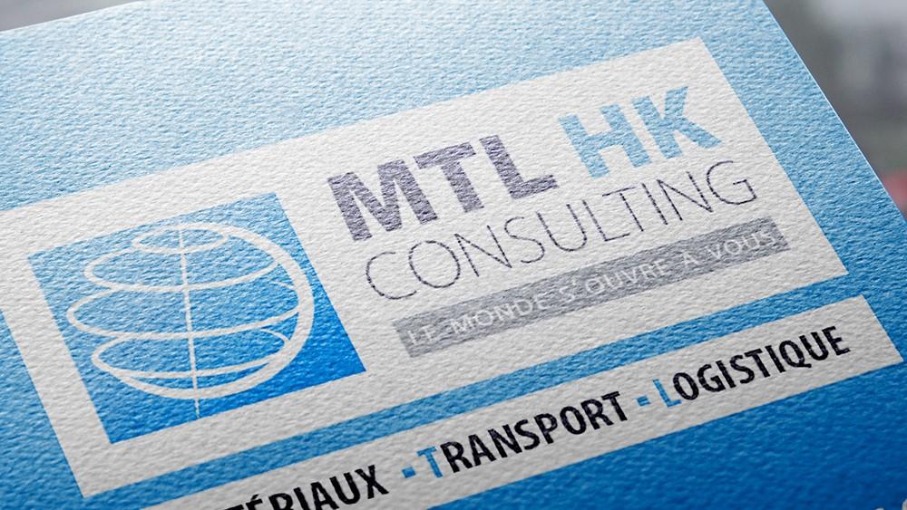 Communication MTL Consulting Logo Carte De Visite Plaquette