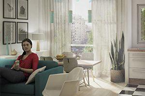 Modélisation 3D appartement de particulier
