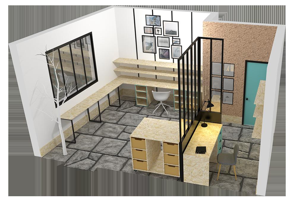 conception atelier boutique am nagement d 39 espace. Black Bedroom Furniture Sets. Home Design Ideas