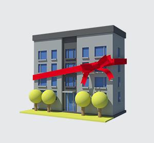 <span>Série d'illustrations 3D de bâtiments pour rapport d'activité</span><i>→</i>
