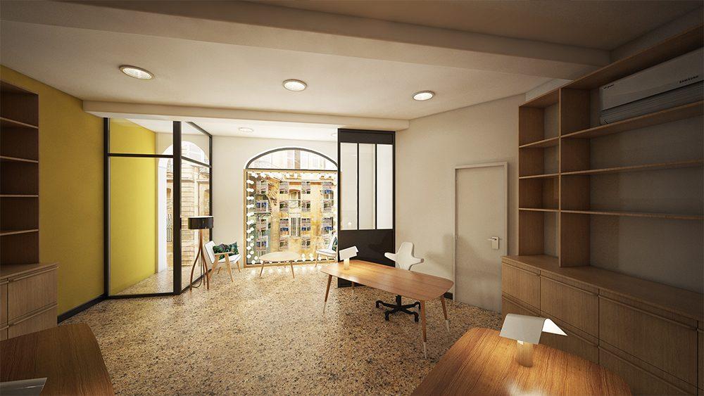 visuel 3d am nagement agence immobili re rendus 3d r alistes. Black Bedroom Furniture Sets. Home Design Ideas