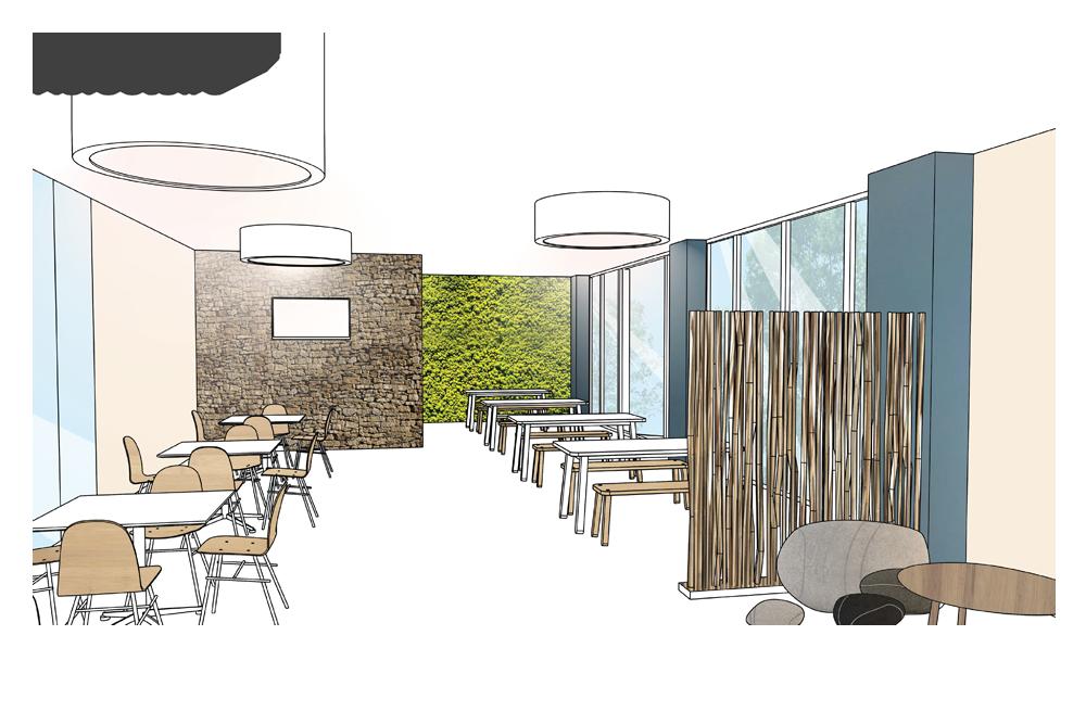 Aménagement bureaux lidl graphisme & architecture dintérieur