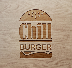 <span>Logo & flyer Chill Burger</span><i>→</i>