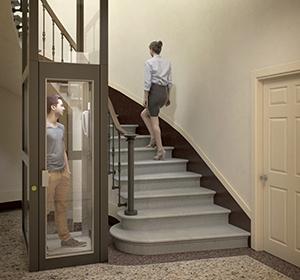 <span>Modélisation 3D hall ascenseur</span><i>→</i>