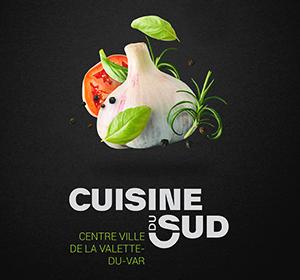 <span>Concept graphique affiche / Cuisine du Sud</span><i>→</i>