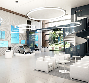 <span>Visuels perspective 3D hall automobile</span><i>→</i>